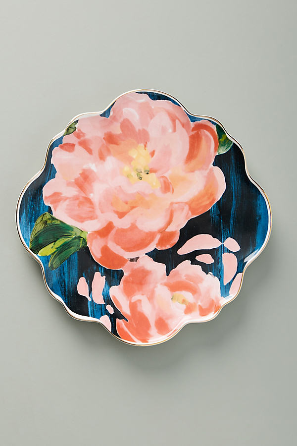 Anais Side Plates - Pink, Size Salad