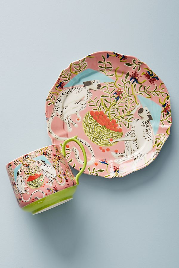 Slide View: 2: Eastern Animal Dessert Plate