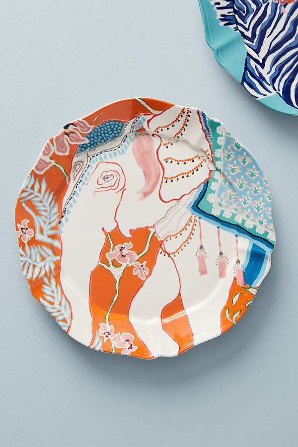 Eastern Animal Dessert Plate - Assorted, Size Salad