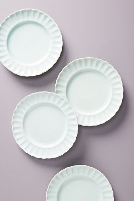 Daisy Sides Plates, Set Of 4 by Gather By Anthropologie