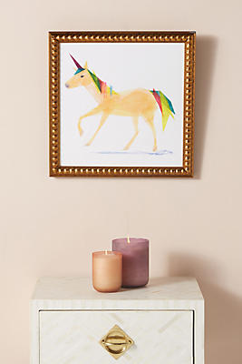 Slide View: 1: Unicorn Wall Art