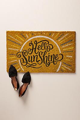 Slide View: 1: Hello Sunshine Doormat