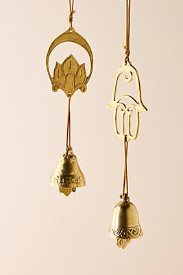 Slide View: 2: Brass Wind Chimes
