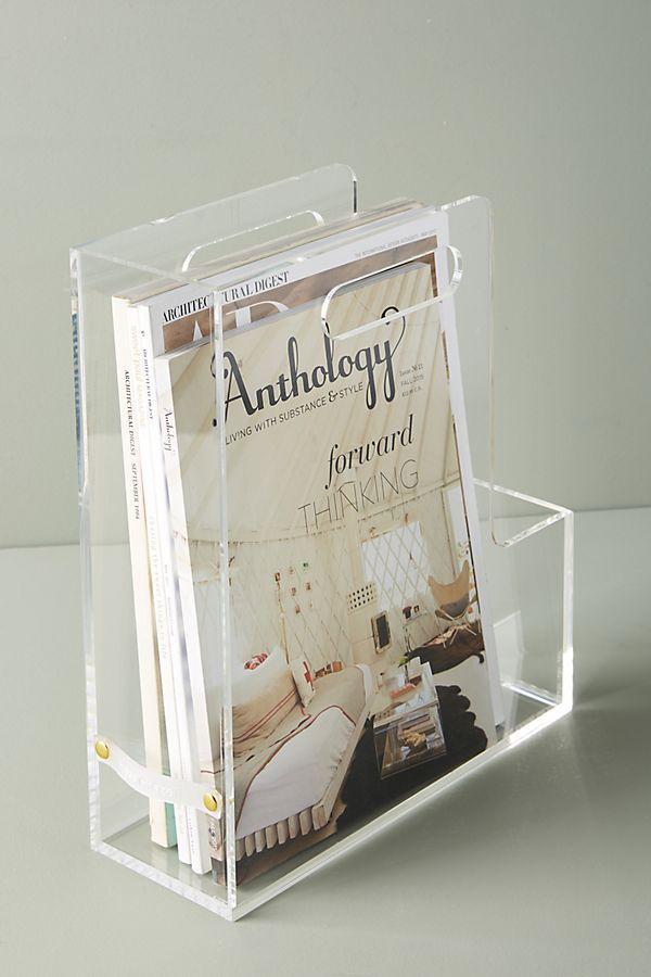 Slide View: 1: Acrylic Magazine File