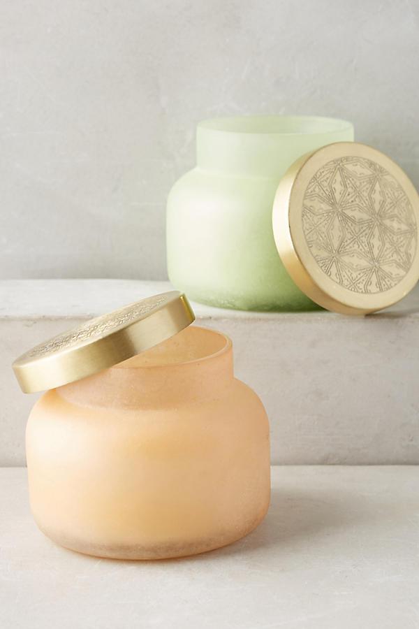 Slide View: 1: Capri Blue Seastone Jar Candle
