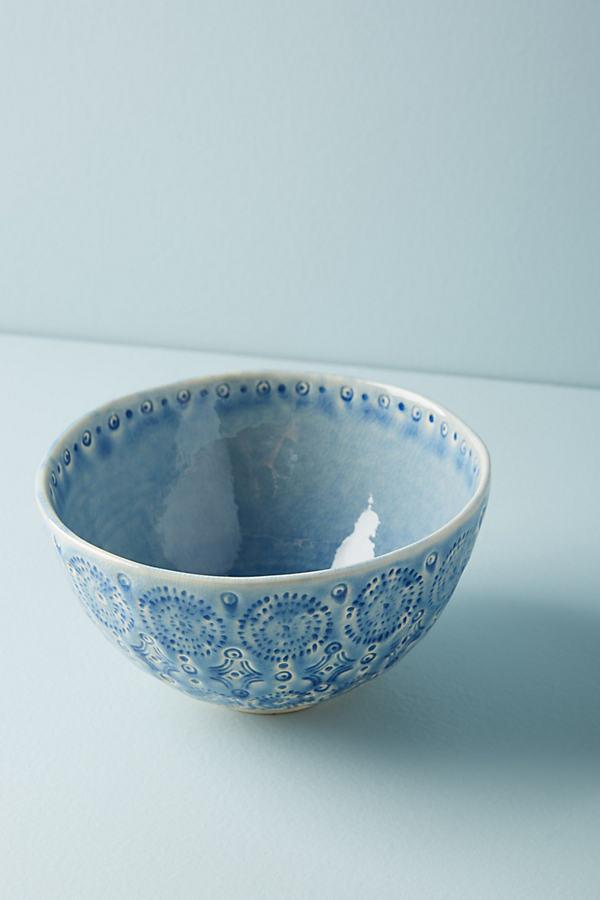 Old Havana Bowl - Blue, Size Bowl