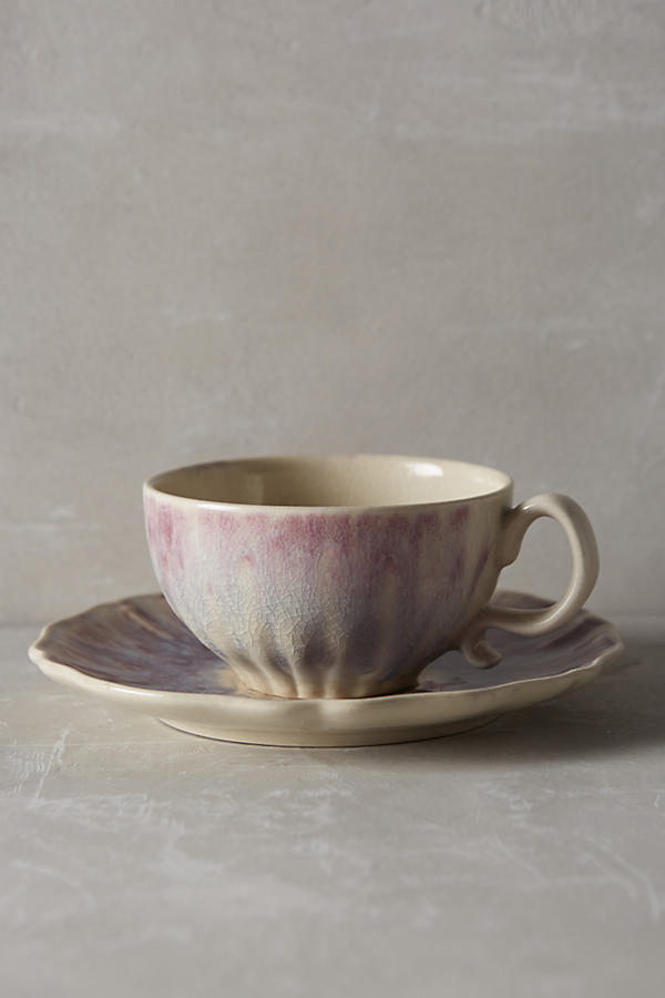 Slide View: 1: Smoke Rings Cup & Saucer