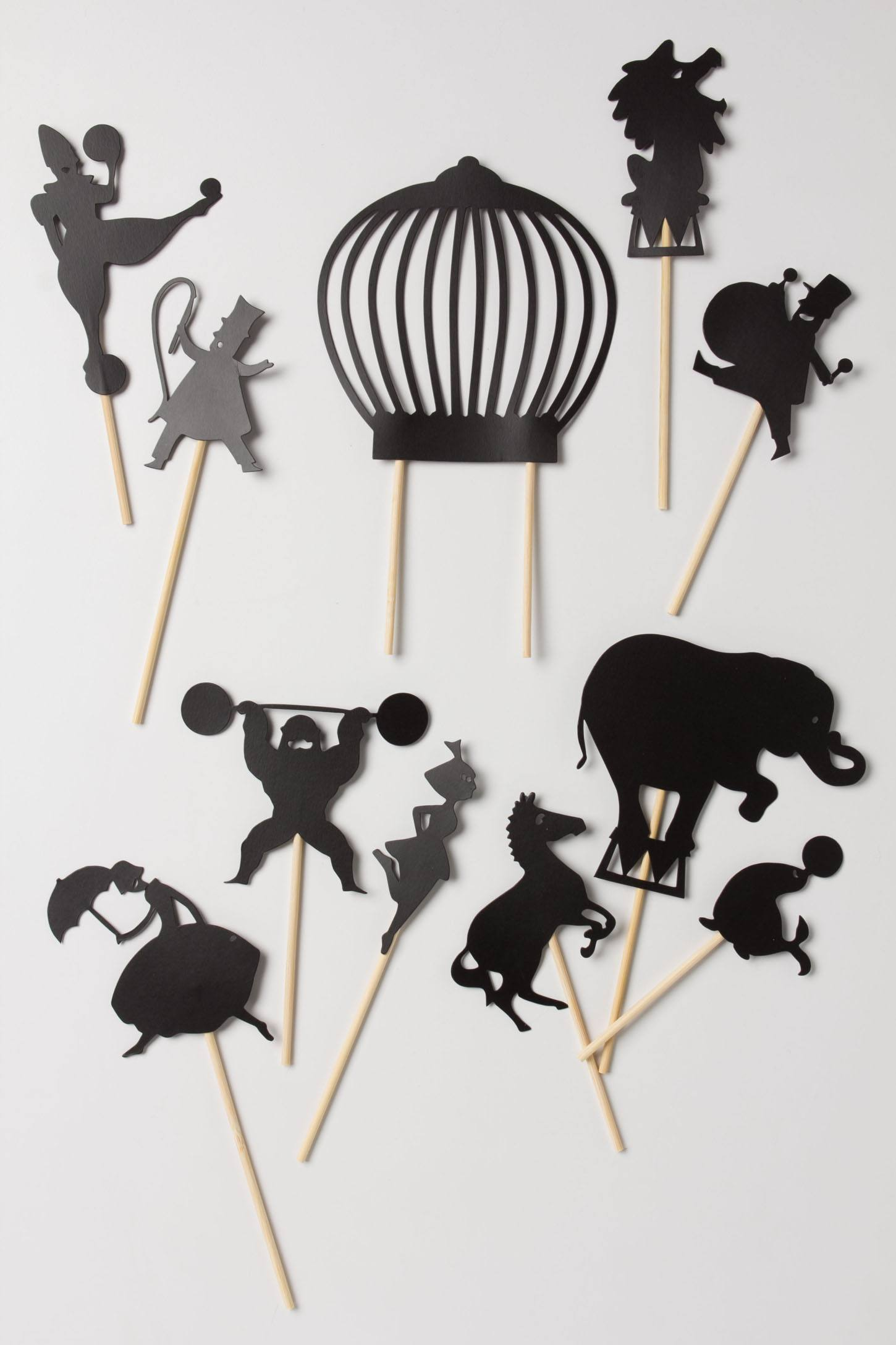 Midnight Circus Shadow Puppets