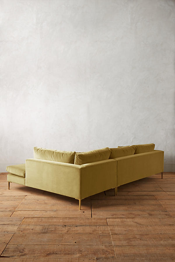 Slide View: 2: Velvet Edlyn Right Sectional