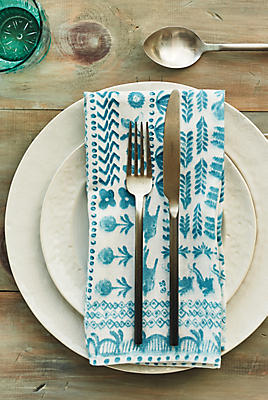Slide View: 2: Puglia Napkin Set
