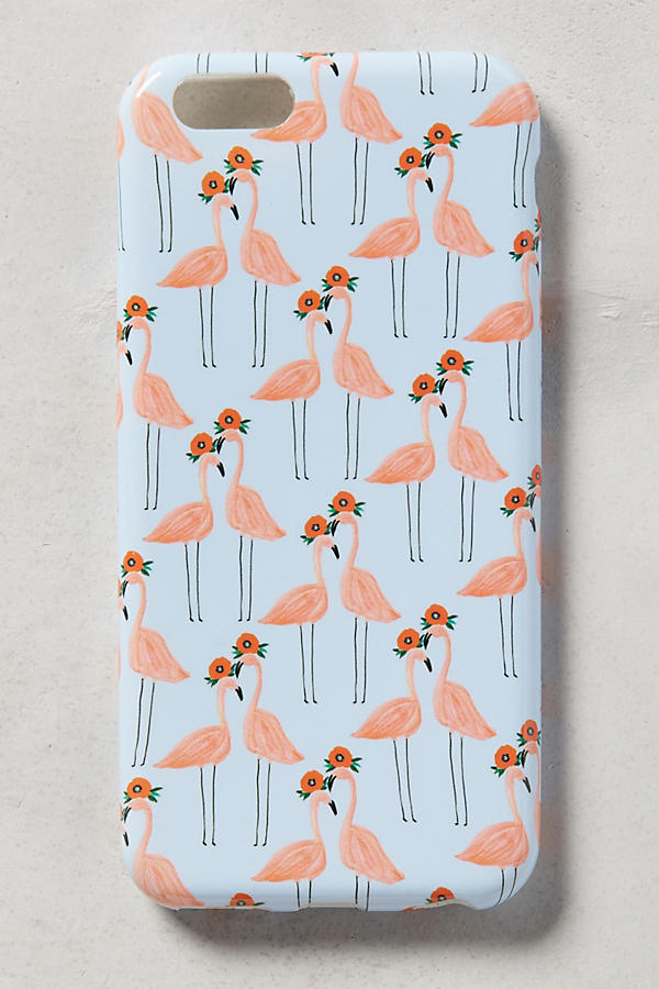 Slide View: 2: Paired Flamingos iPhone 6 Case