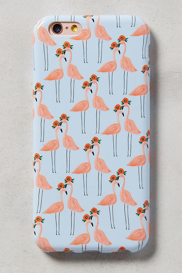 Slide View: 1: Paired Flamingos iPhone 6 Case