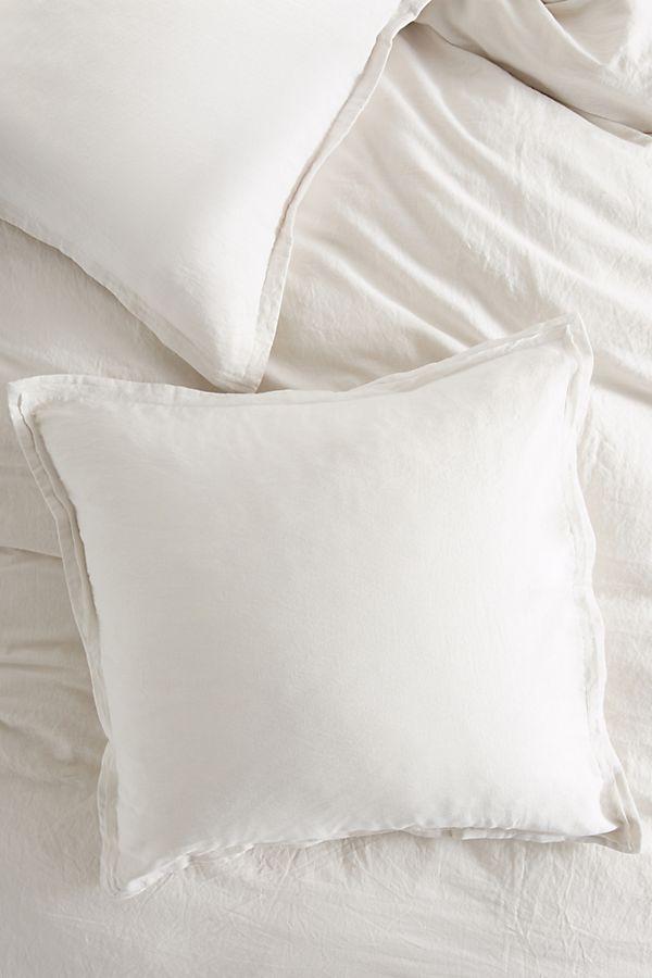 Slide View 1 Relaxed Cotton Linen Euro Sham