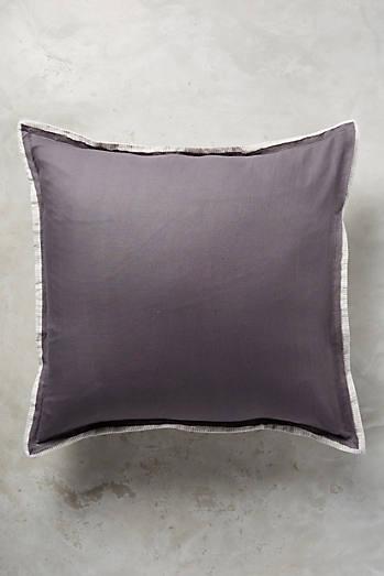 Quadratischer Kissenbezug aus bequemer Baumwoll Leinen Mischung. Sale Home Furnishings   D cor   Anthropologie