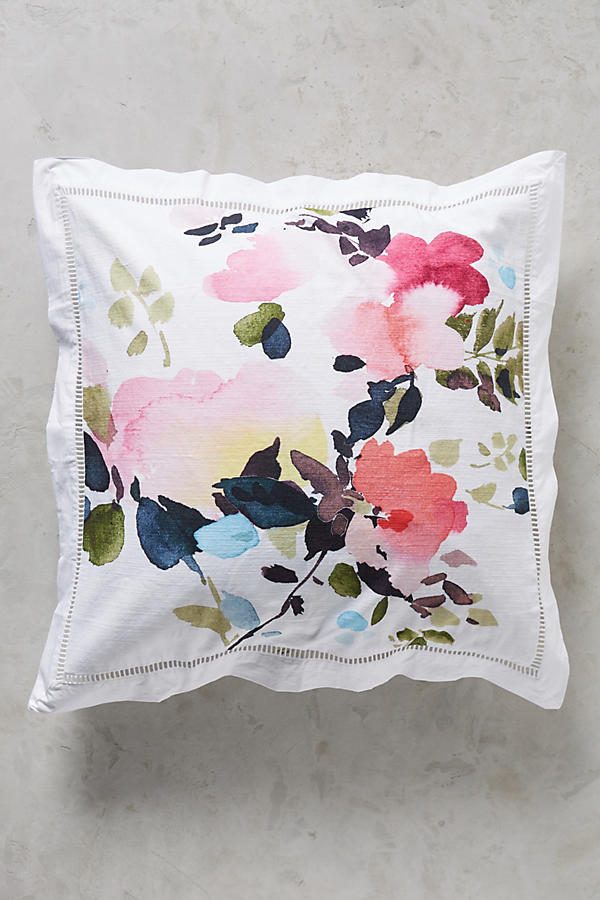 Slide View: 1: Helen Dealtry Floral Euro Sham
