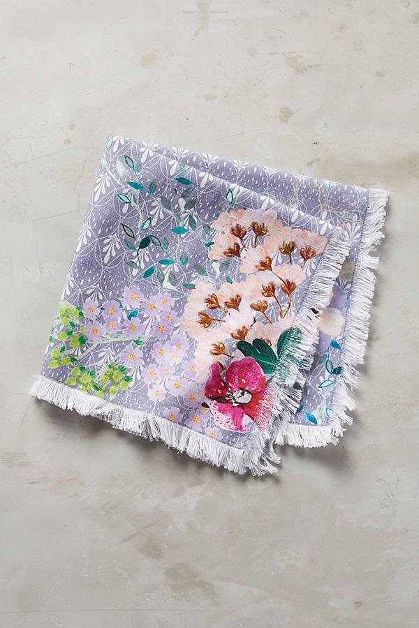 Dorienne Floral Napkin - Lavender, Size Napkin