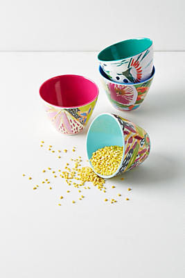 Slide View: 1: Lulie Wallace Melamine Nut Bowl Set