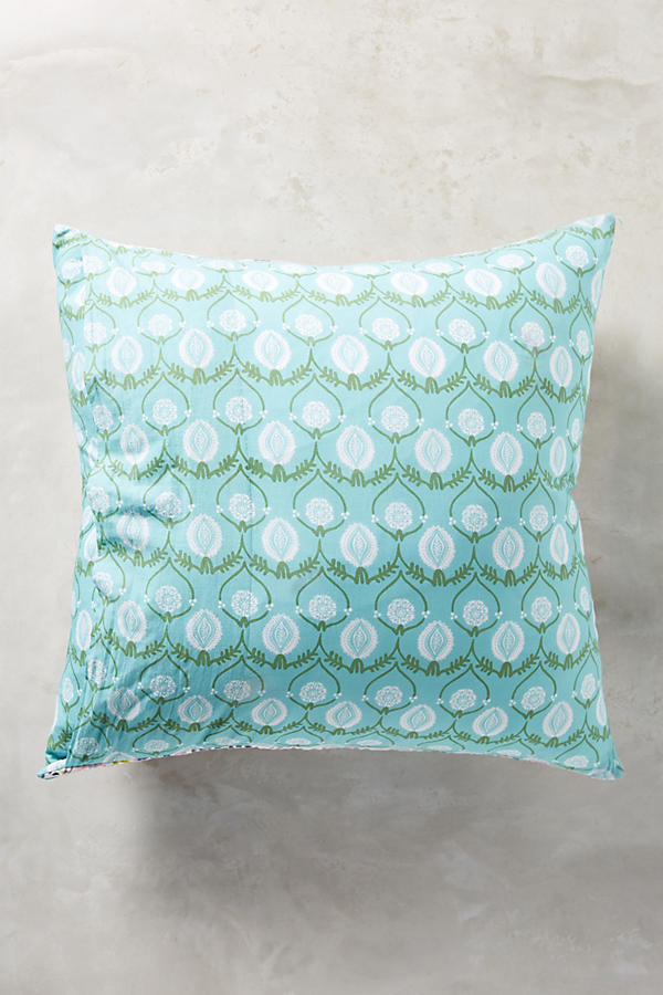 Slide View: 2: Florilla Square Pillowcase