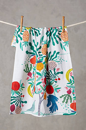 Fruit Tree Dishtowel