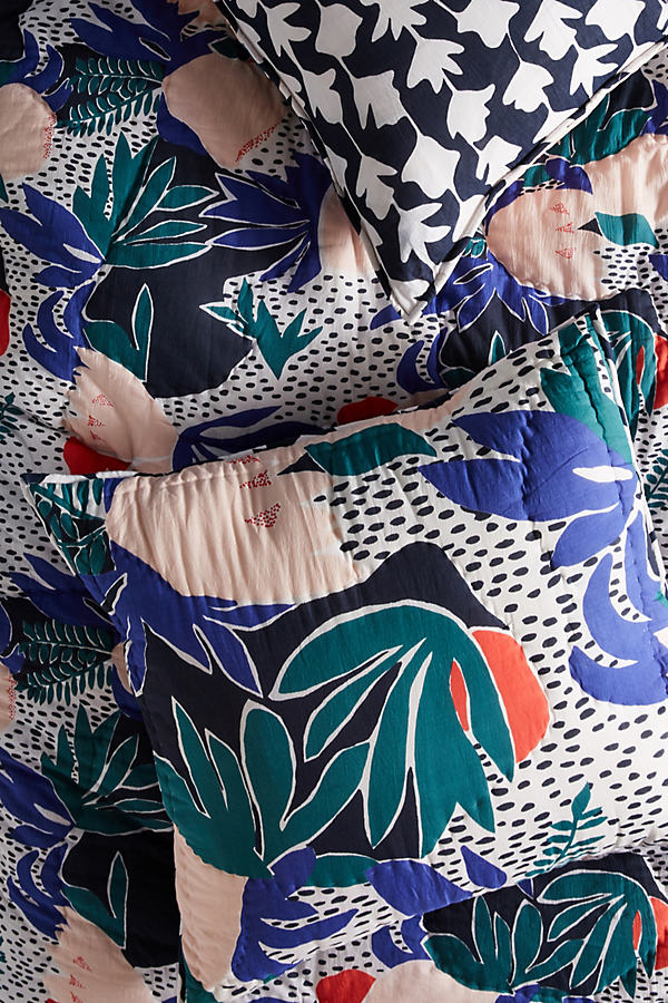 Cassie Byrnes Melbourne Pillowcase - Assorted, Size Squar Sham