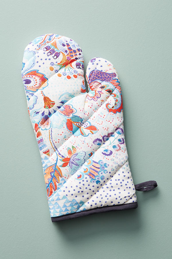 Slide View: 2: Liberty for Anthropologie Grand Bazaar Oven Mitt
