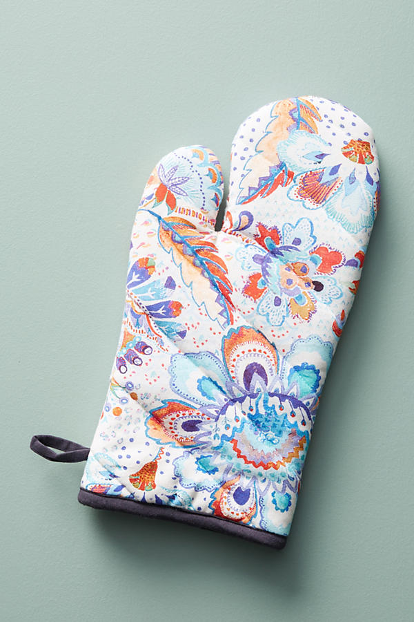 Slide View: 1: Liberty for Anthropologie Grand Bazaar Oven Mitt