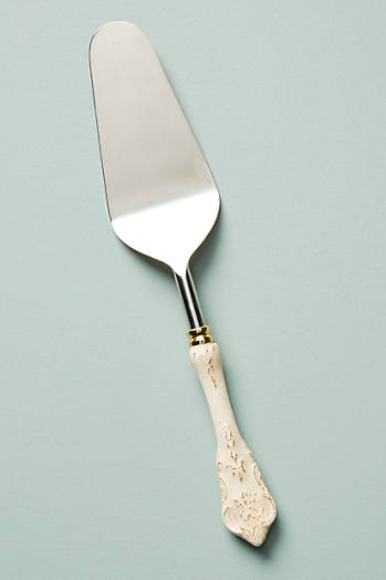Slide View: 1: Goldenrod Cake Knife