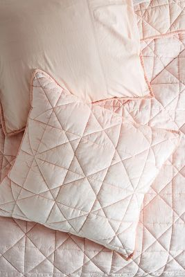 Luxe Velvet Euro Sham by Anthropologie