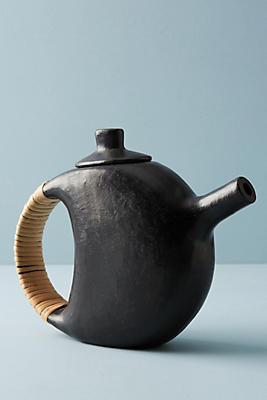 Slide View: 1: Serpentinite Teapot