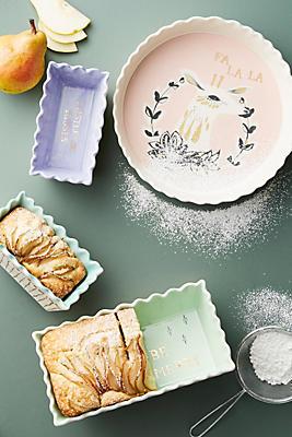 Slide View: 3: L'Hiver Pie Dish