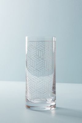 Linear Highball Glass by Anthropologie