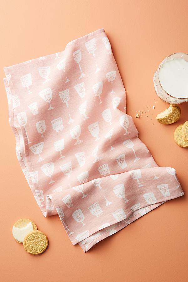 Francine Napkin - Pink, Size Napkin