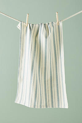 Slide View: 1: Soho Home Country House Striped Tea Towel