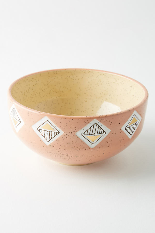 Ontario Bowl - Peach, Size Bowl