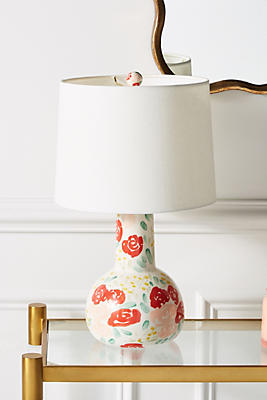Slide View: 2: Leah Goren Blooming Lamp Ensemble