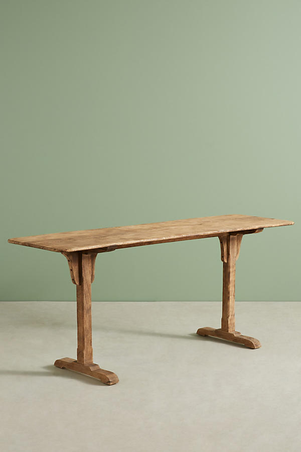 Slide View: 2: Burnished Wood Console