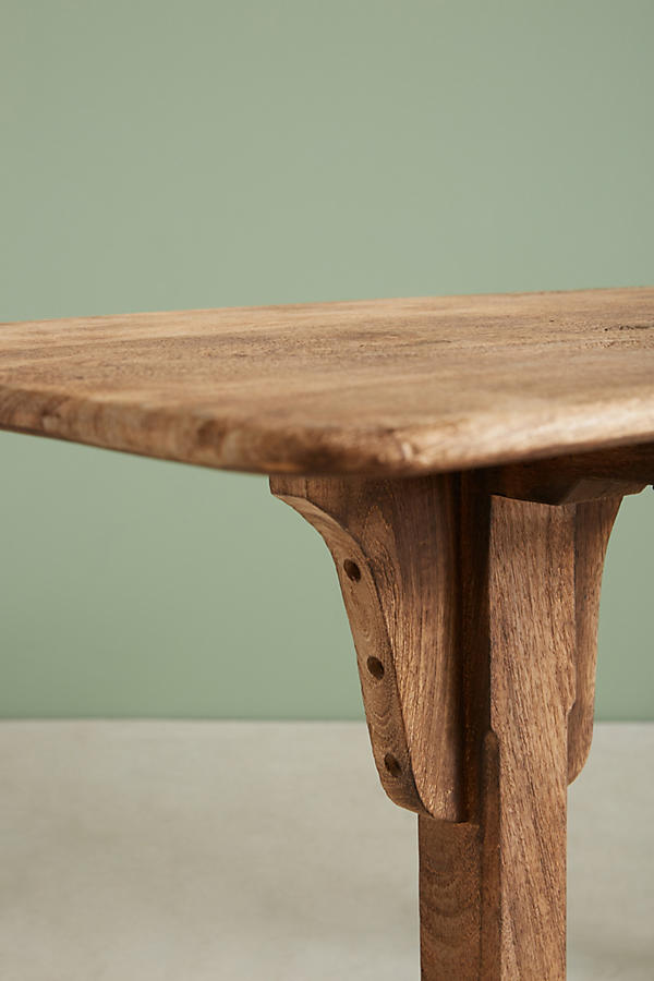 Slide View: 4: Burnished Wood Console