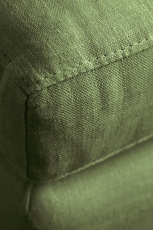 Slide View: 3: Linen Edlyn Ottoman