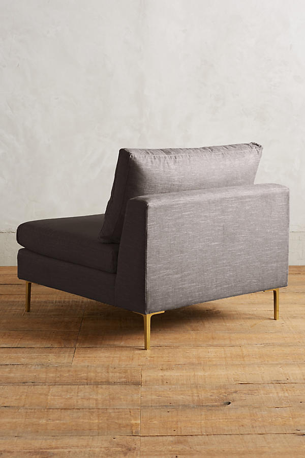 Slide View: 2: Belgian Linen Edlyn Chair