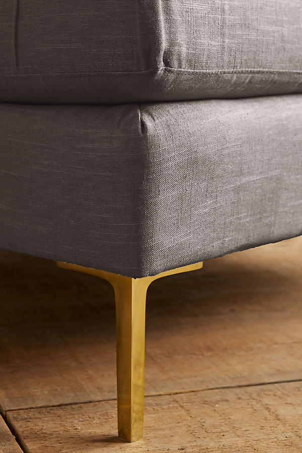 Slide View: 3: Belgian Linen Edlyn Chair