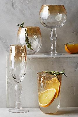 Sun-Kissed Wine Glass