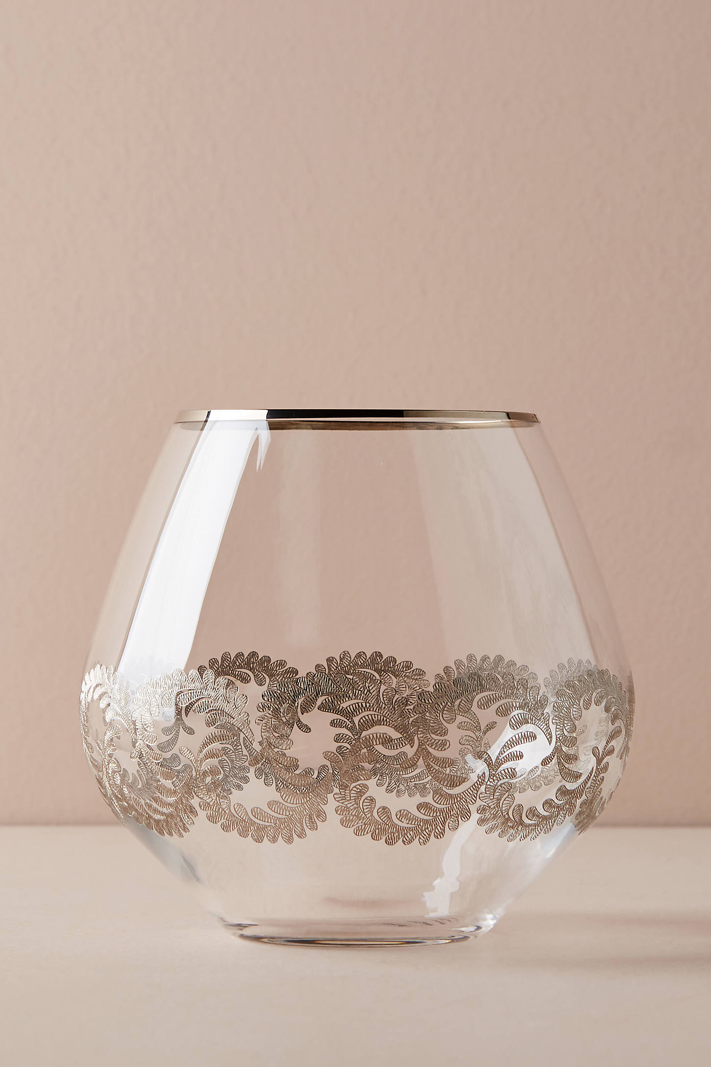 Lucca Stemless Wine Glass