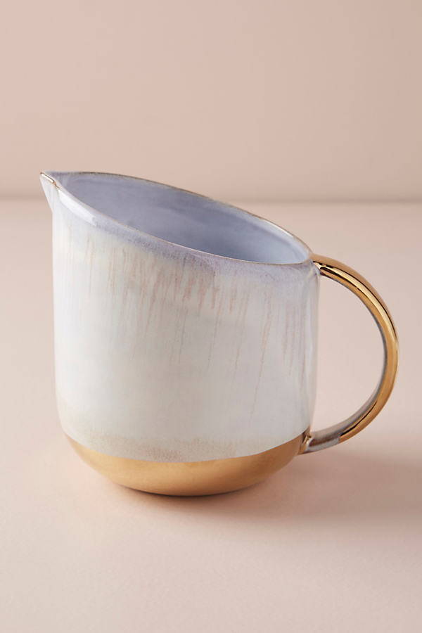 Karuma Pitcher - Oyster, Size Pitcher
