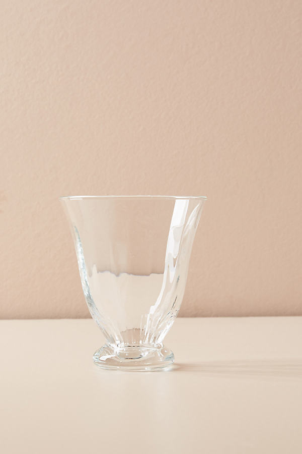 Zinnia Tumbler - Clear, Size Wine Glass