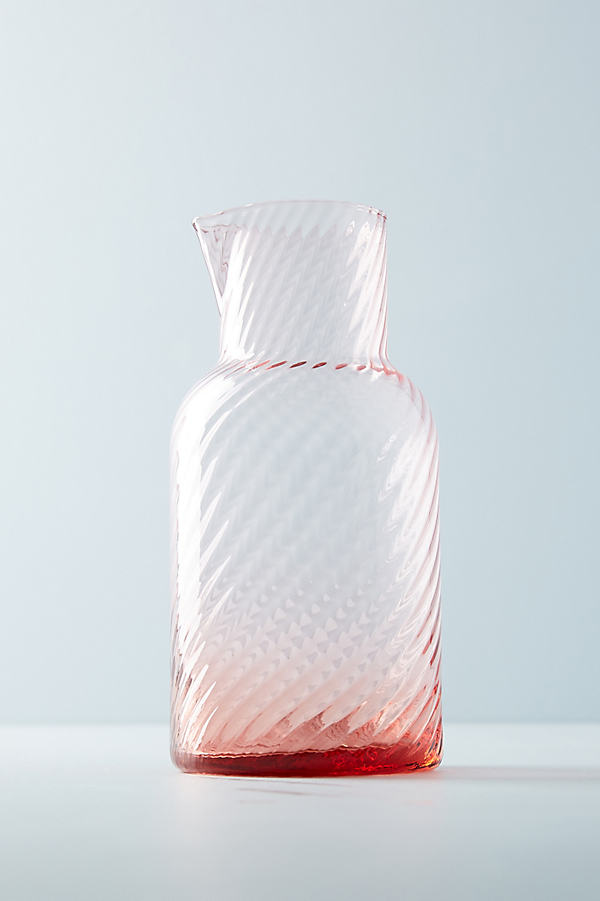 Optic Carafe - Pink, Size Pitcher