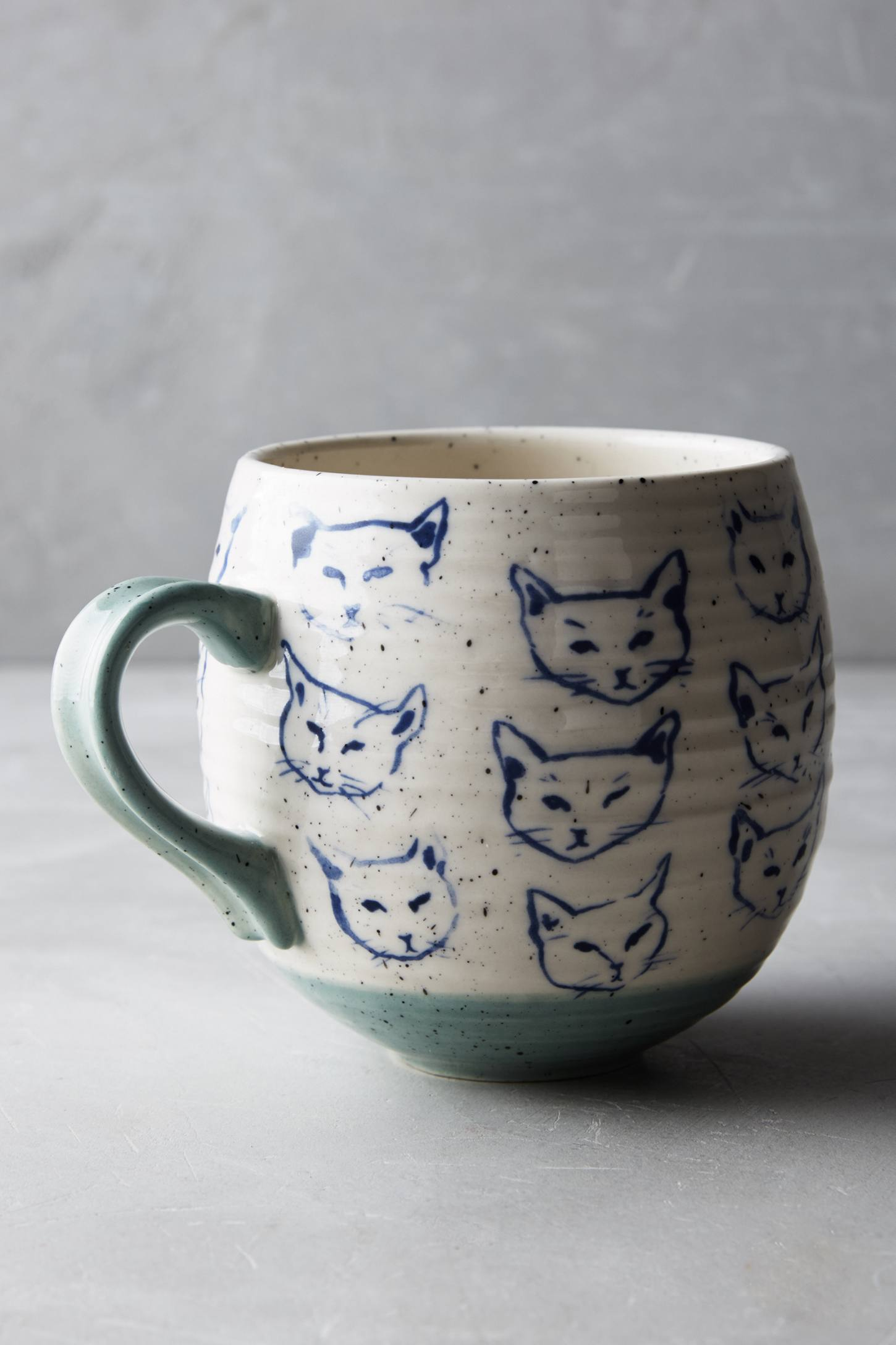 Slide View: 1: Cat Study Mug