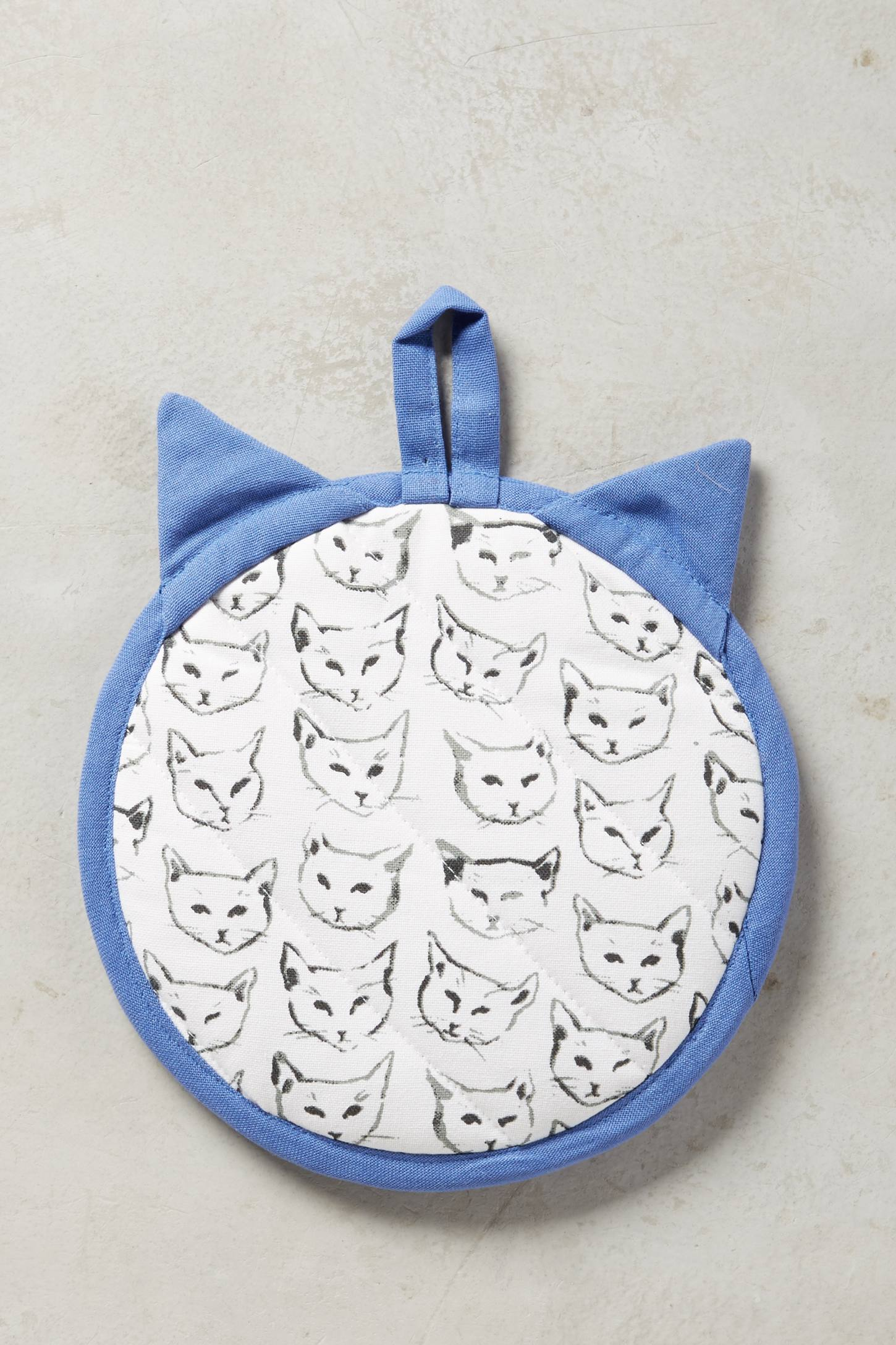 Slide View: 4: Cat Study Pot Holder