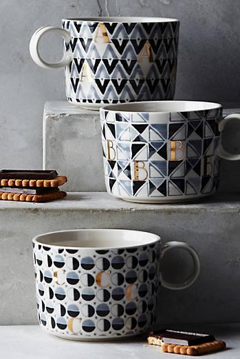 Optimist Monogram Mug. House   Home On Sale   Anthropologie