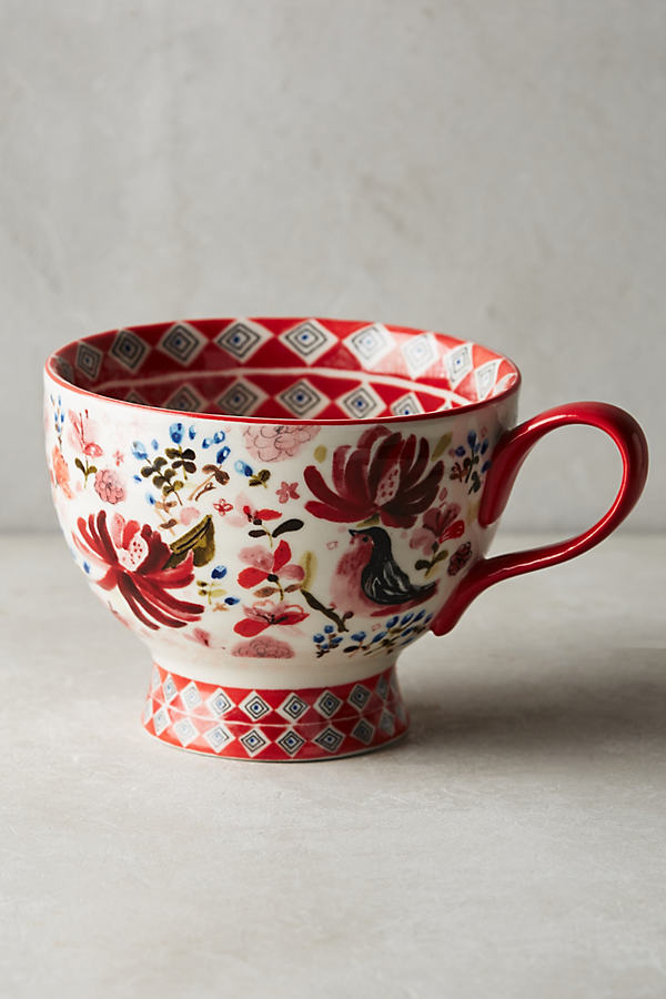 Wing & Petal Mug - Assorted, Size Mug
