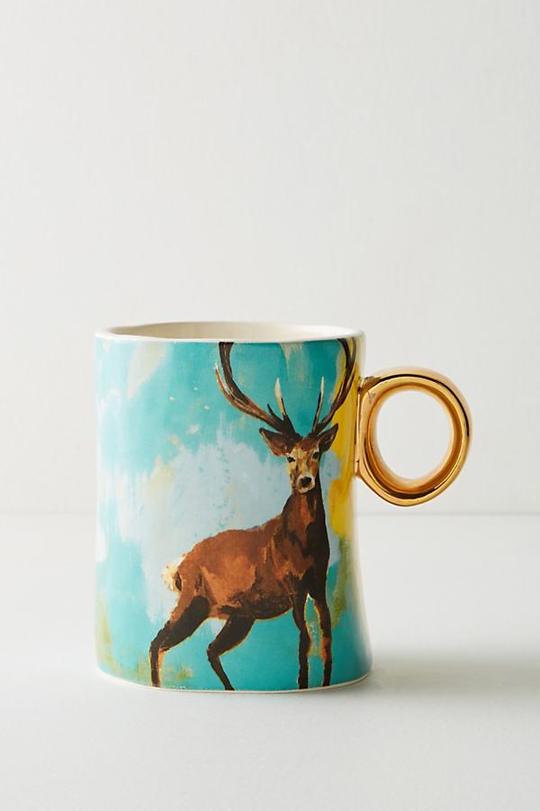 Walcott Mug - Yellow Motif, Size Mug